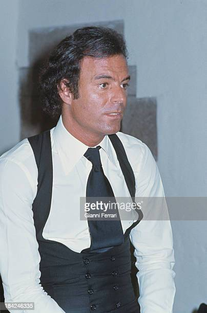 A portrait of The Spanish singer Julio Iglesias 1975 Madrid Castilla La Mancha Spain