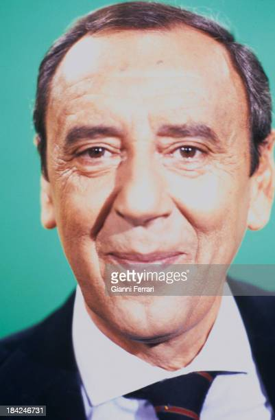 A portrait of the Spanish TV presenter Joaquin Prat Madrid Castilla La Mancha Spain