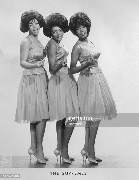 Portrait of The Supremes circa 1965