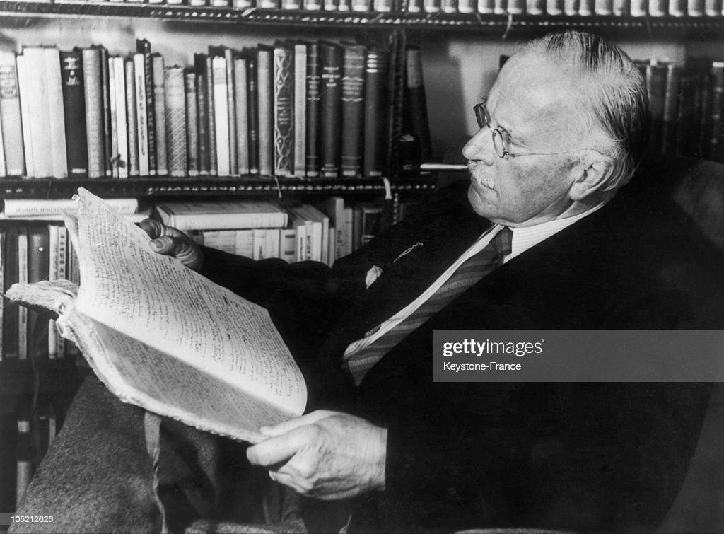 Carl Gustav Jung, In 1950'S : ニュース写真