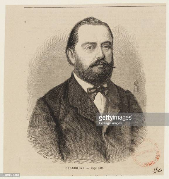 Portrait of the tenor Gaetano Fraschini the first Zamoro in the opera Alzira by Giuseppe Verdi ca 1860 Found in the collection of Bibliothèque...