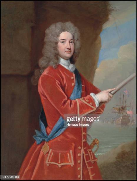 Portrait of the ViceAdmiral James Berkeley 3rd Earl of Berkeley Private Collection