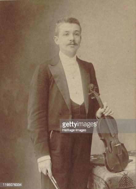 Portrait of the violinist and composer Henri Marteau Private Collection Artist Nadar GaspardFélix