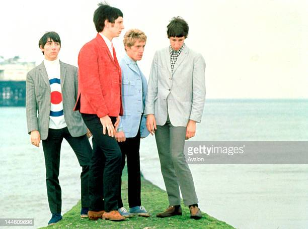 Portrait of The Who photographed in the 1960's