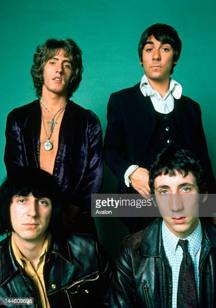 Portrait of The Who photographed in the late 1960's