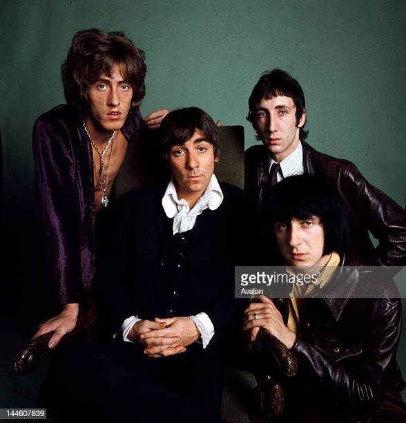 Portrait of the Who taken in 1968 Job 72530 Ref KCN