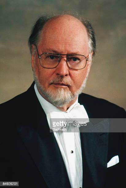 Portrait of the world renowned American film composer John Williams 1997 He was also the longtime conductor of the Boston Pops Orchestra