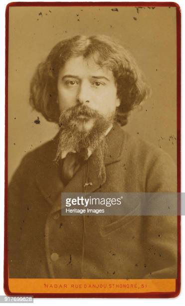 Portrait of the writer Alphonse Daudet Private Collection