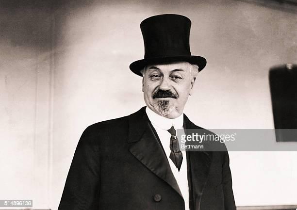 Portrait of theater producer Oscar Hammerstein Undated photo