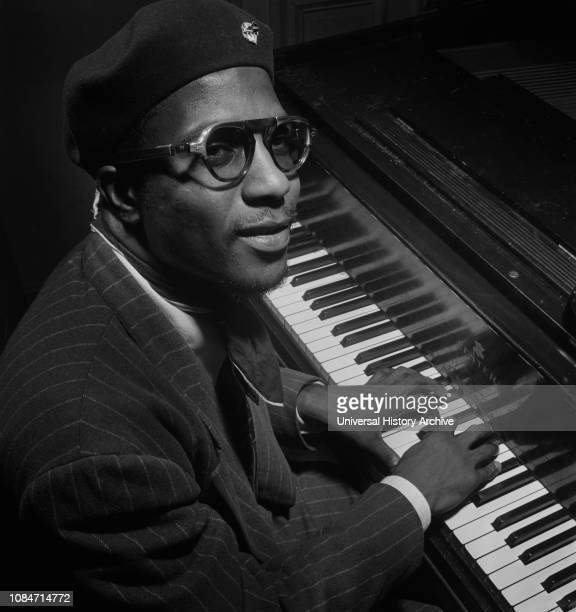 Portrait of Thelonious Monk Mintons Playhouse New York New York USA William P Gottlieb Collection September 1947