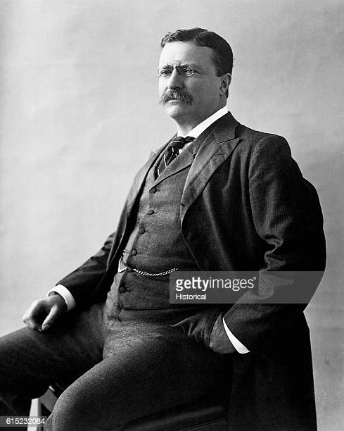 A portrait of Theodore Roosevelt 26th President of the United States
