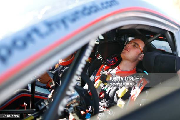 Portrait of Thierry Neuville of Belgium taken during Day Two of the WRC Argentina on April 29 2017 in Villa Carlos Paz Argentina