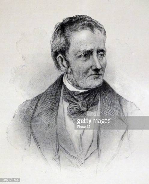 Portrait of Thomas De Quincey an English essayist Dated 19th Century