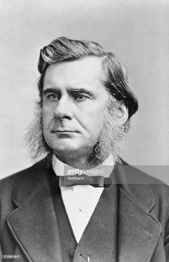 Portrait of Thomas Henry Huxley (1825-1895), English biologist. Undated illustration from a painting.
