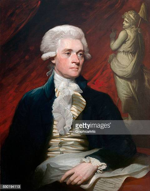 Portrait of Thomas Jefferson by Mather Brown 1786