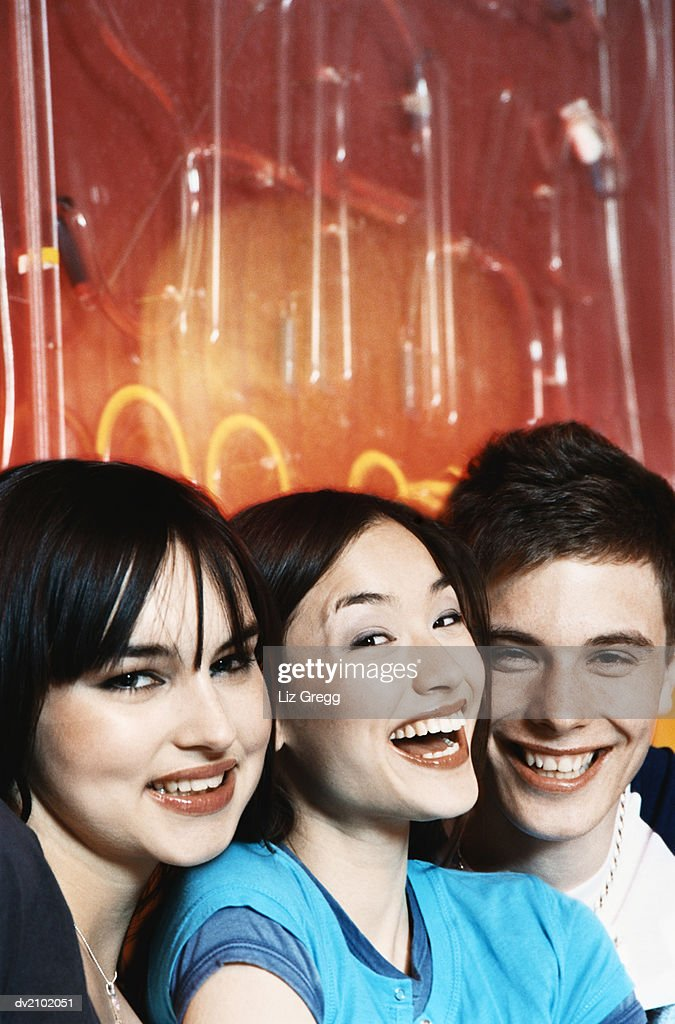 Portrait of Three Young Adults : Stock Photo