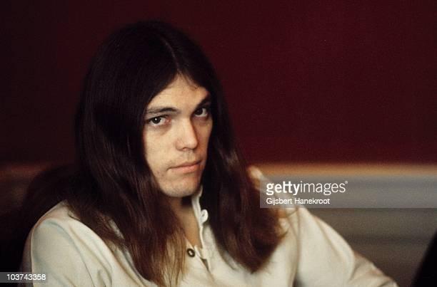 Portrait of Timothy B Schmit of Poco taken in 1972 in Amsterdam, Netherlands.