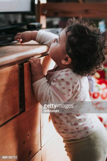 portrait of toddler - onebluelight stock pictures, royalty-free photos & images
