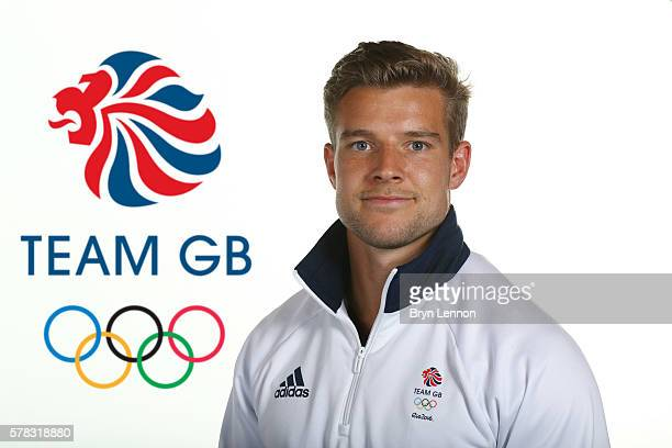 A portrait of Tom Mitchell a member of the Great Britain Olympic Rugby 7s team during the Team GB Kitting Out ahead of Rio 2016 Olympic Games on July...