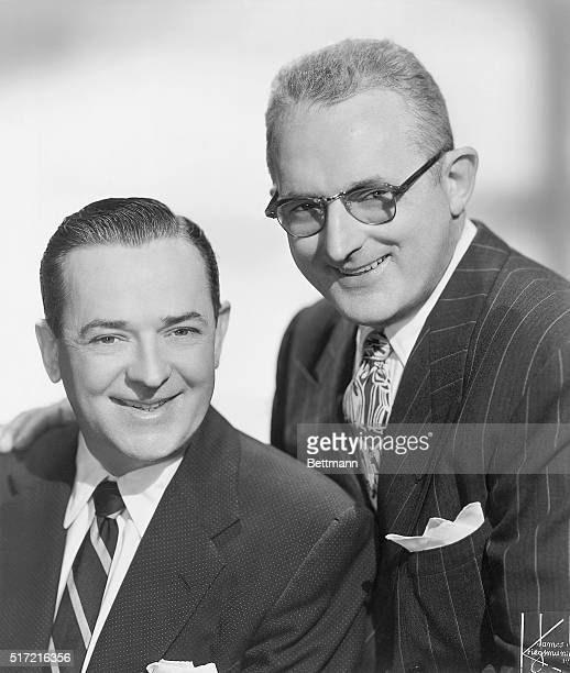 1954 Portrait of Tommy and Jimmy Dorsey The Fabulous Dorseys appearing at the Cafe Rouge in the Hotel Statler