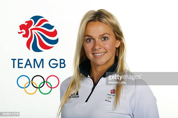 A portrait of Tonia Couch a member of the Great Britain Olympic team during the Team GB Kitting Out ahead of Rio 2016 Olympic Games on June 28 2016...