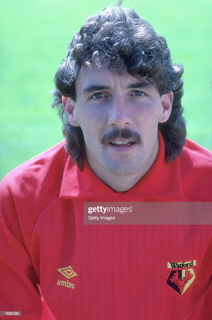 Portrait of Tony Coton of Watford FC. \ Mandatory Credit: Allsport UK /Allsport