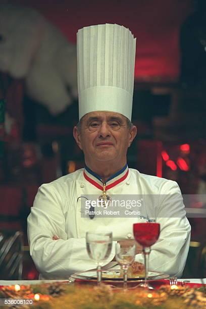 Portrait of top chef Paul Bocuse