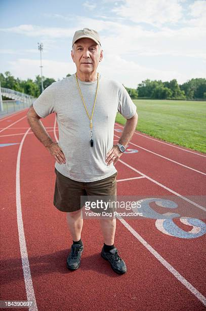 Portrait of Track Coach
