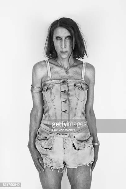 Portrait of trans woman