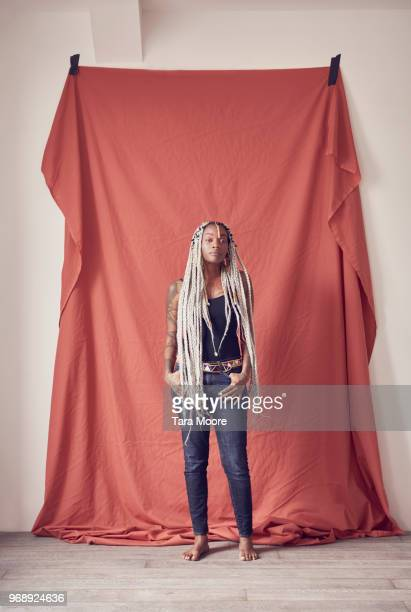 portrait of trendy urban woman