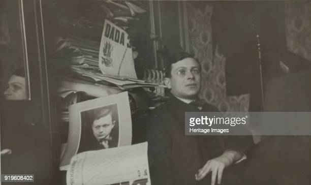 Portrait of Tristan Tzara c 1920 Found in the Collection of Bibliothèque littéraire Jacques Doucet Paris