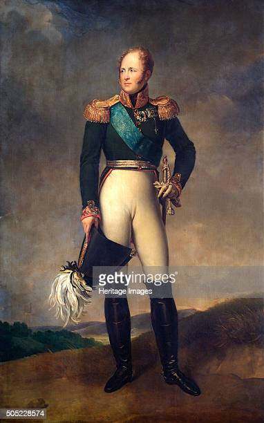 Portrait of Tsar Alexander I of Russia 1817 Presented to the Duke of Wellington by the Tsar in 1817 From the collection of Apsley House London Artist...