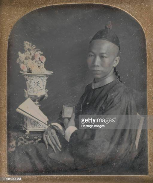 Portrait of Tsow Chaoong, 1847. Artist Unknown.