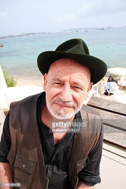 Portrait of Tunisian film director and filmmaker Nouri Bouzid taken during a portrait session held on May 13 2011 in Cannes France Nouri Bouzid was...