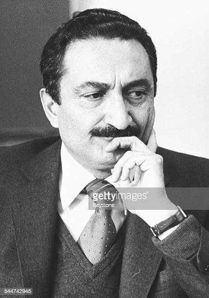 Portrait of Turkish politician Bulent Ecevit Leader of the Republican People's Party June 1980