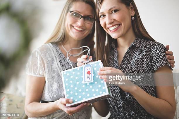 Portrait of two beautiful women