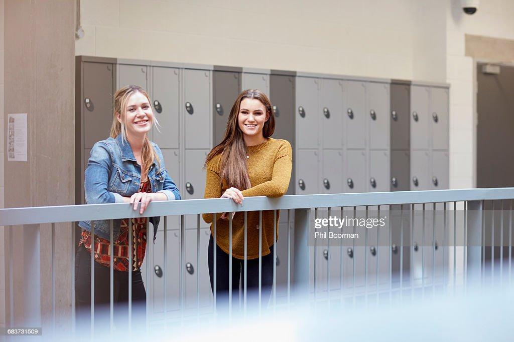 College Girl Locker Room