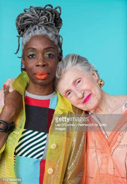 Portrait of Two Older Confident Women