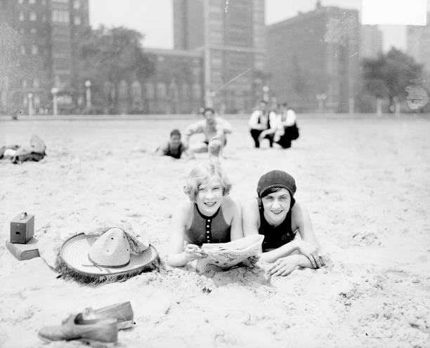 On The Beach In Chicago