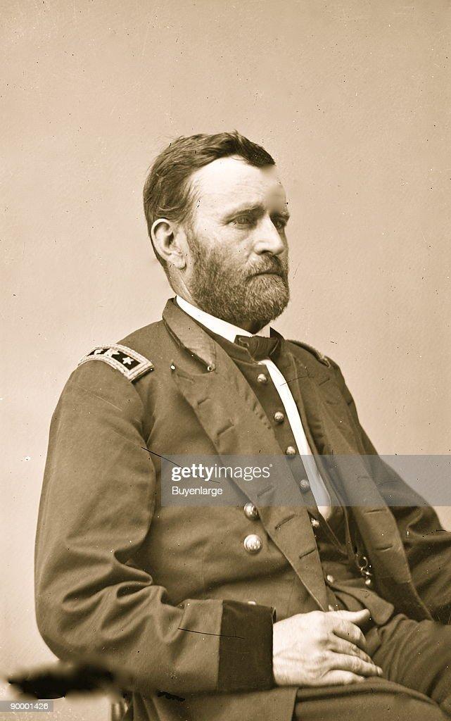 Portrait of Ulysses Simpson Grant : News Photo