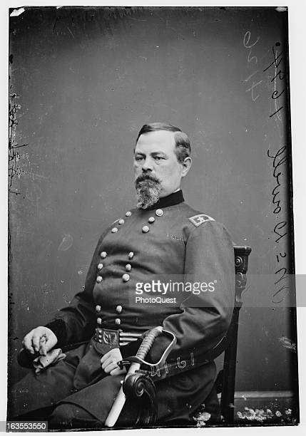 Portrait of Union general Irvin McDowell who commanded Union forces during the First Battle of Bull Run mid nineteenth century