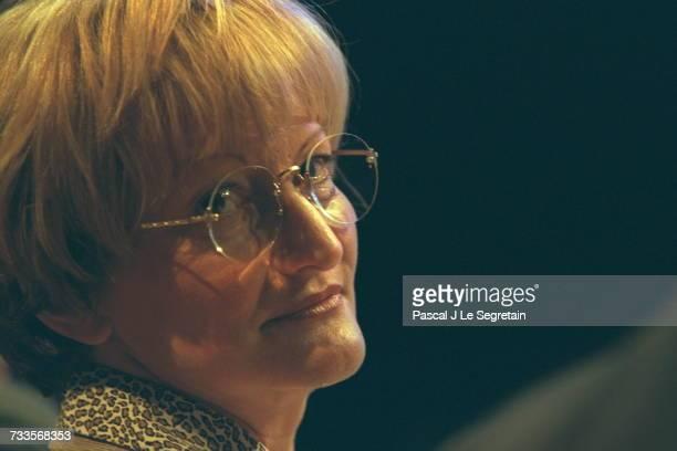 Portrait of union leader Nicole Notat