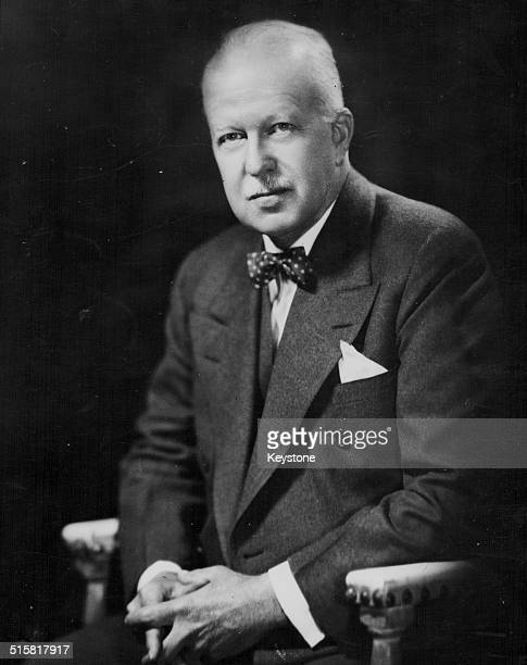 Portrait of United States Ambassador Walter Gifford as he replaced his predecessor Lewis Douglas September 30th 1950