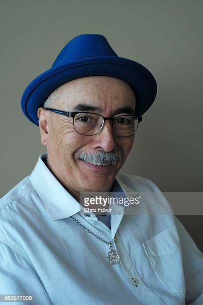 Portrait of United States poet laureate Juan Felipe Herrera San Francisco California October 2 2015