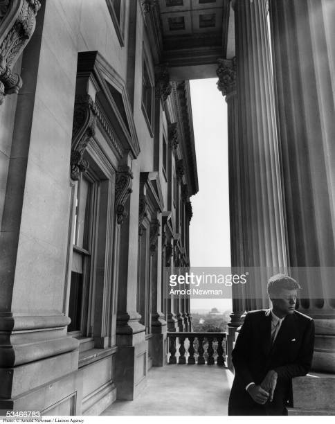 Portrait of United States Senator John F Kennedy June 25 1953 in Washington DC