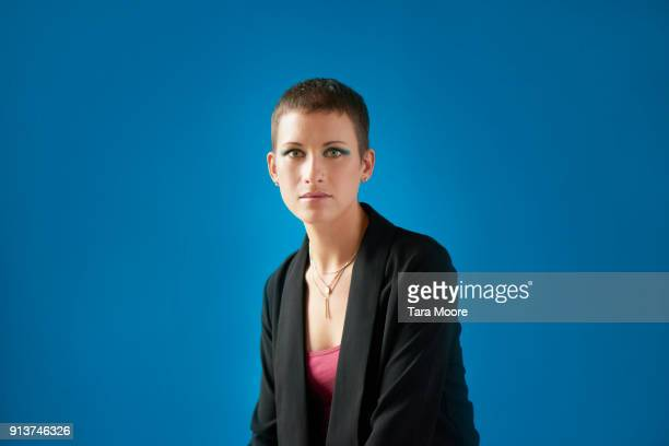 portrait of urban business woman