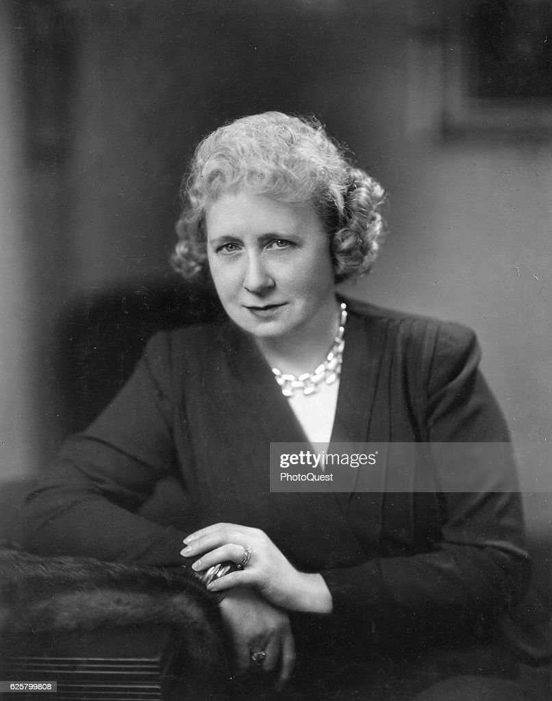 Portrait Of First Lady Bess Truman : News Photo