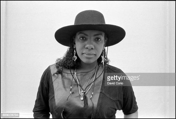 Portrait of US RB singer Alyson Williams at Kensington Palace Hotel London United Kingdom on 21 April 1987