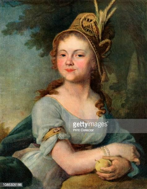 Portrait of V I Arsenyeva' mid1790s Ekaterina Nikolaevna Arsenyeva was a pupil at the Smolny Finishing School She was the eldest daughter of Major...