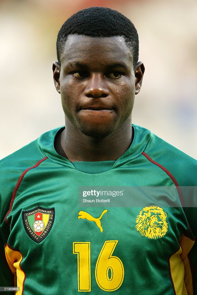 A portrait of Valery Mezague of Cameroon : News Photo